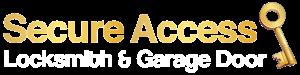 Secure Access Locksmith & Garage Door Official Logo